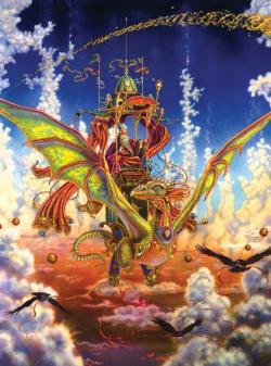 Dragonflight (Dragons) Dragons Jigsaw Puzzle