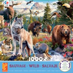 American Animals Wildlife Jigsaw Puzzle
