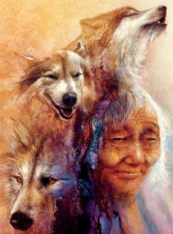 Medicine Woman (Native Spirit) Native American Jigsaw Puzzle