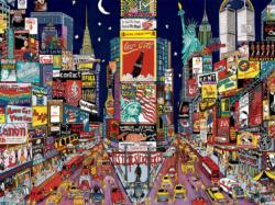 New York Cartoons Jigsaw Puzzle