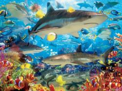 Reef Sharks Under The Sea Jigsaw Puzzle