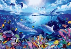 Day of the Dolphins Fish Jigsaw Puzzle