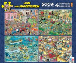 Jan van Haasteren 4-in-1 Pack II Dance Jigsaw Puzzle