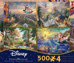 4-in-1 Thomas Kinkade Disney Dreams Multi-Pack Movies / Books / TV Multi-Pack