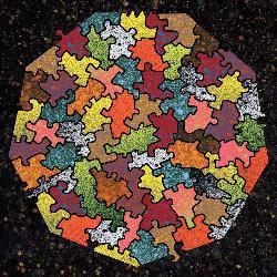 Nonagon (Baffler) Graphics Jigsaw Puzzle