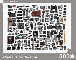 Camera Collection Collage Jigsaw Puzzle