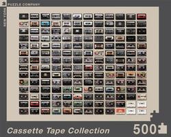Cassette Tape Collection Nostalgic / Retro Jigsaw Puzzle