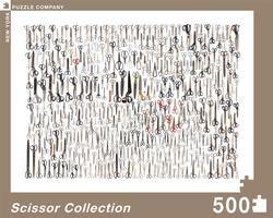 Scissor Collection Collage Jigsaw Puzzle