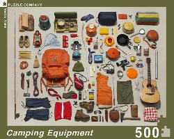 Camping Equipment Collection Outdoors Jigsaw Puzzle