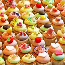 Killer Cupcakes (World's Most Difficult) Food and Drink Jigsaw Puzzle