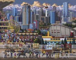 Calgary Americana & Folk Art Jigsaw Puzzle