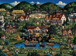 Camp Eagle's Nest United States Jigsaw Puzzle