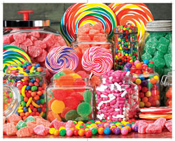 Candy Galore Food and Drink Jigsaw Puzzle