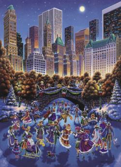 Central Park Cities Jigsaw Puzzle