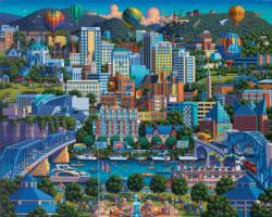 Chattanooga Lakes / Rivers / Streams Jigsaw Puzzle
