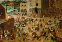Children's Games by Pieter Bruegel The Elder Fine Art