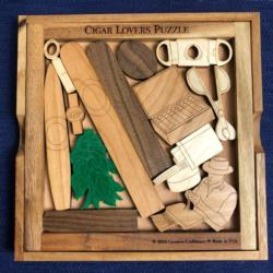 Cigar Lovers Puzzle Father's Day