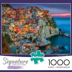 Cinque Terre (Signature Collection) Skyline / Cityscape Jigsaw Puzzle