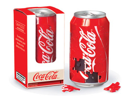 3D Coca-Cola Can Coca Cola Children's Puzzles