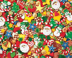 Cookie Cutouts Sweets Jigsaw Puzzle
