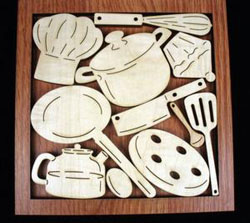 Cooks Cupboard Puzzle Food and Drink Brain Teaser