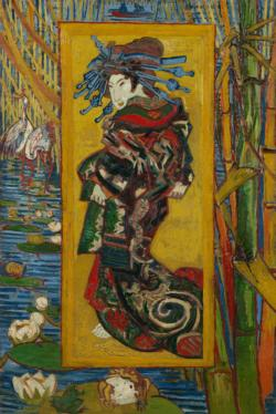 Courtesan (After Eisen) by Van Gogh People