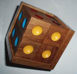 Crazy Six Cube Brain Teaser