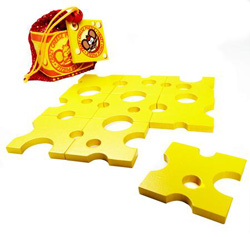 Crazy Cheese Jigsaw Puzzle