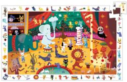 Observation Puzzle - Circus Animals Hidden Images