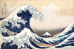 The Great Wave Seascape / Coastal Living Jigsaw Puzzle