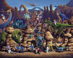 Dinosaur Games Dinosaurs Jigsaw Puzzle