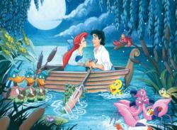 The Little Mermaid Kiss the Girl Mermaids Children's Puzzles