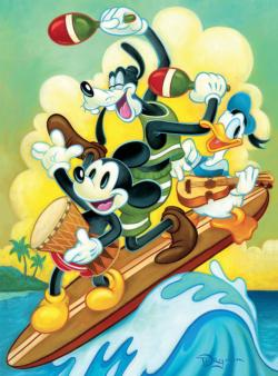 Surf Trio Disney Jigsaw Puzzle