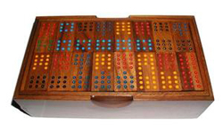 Dominoes - Double 12 w/ Handcrafted Box