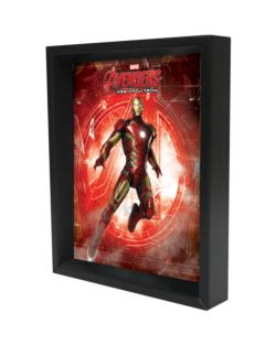 Iron Man - Age of Ultron - Log Shadowbox Super-heroes