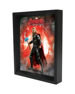 Thor - Age of Ultron - Logo Shadowbox Super-heroes Shadowbox