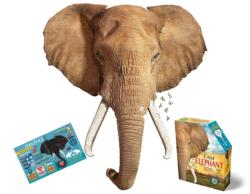 I Am Elephant Wildlife Jigsaw Puzzle