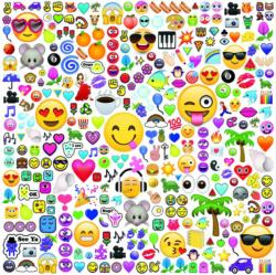 Partytime (300 Piece Oversized EMOJI) - Scratch and Dent Graphics / Illustration Large Piece