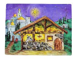 Flipzles Nativity Puzzle Christmas Wooden Jigsaw Puzzle