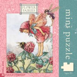 Red Clover Fairy (Flower Fairies) (Mini) Flowers Jigsaw Puzzle