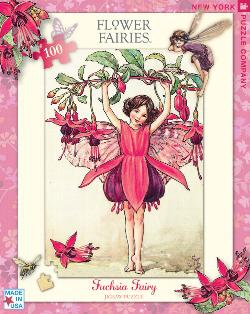 Fuchsia Fairy Fairies Children's Puzzles
