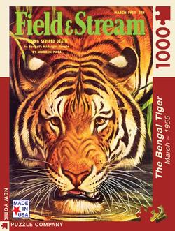 The Bengal Tiger (Field & Stream) Tigers Jigsaw Puzzle