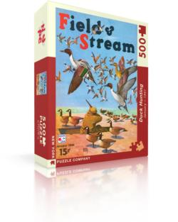 Duck Hunting (Field & Stream) Nostalgic / Retro Jigsaw Puzzle