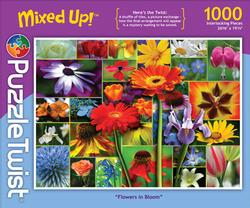 Flowers in Bloom Collage Jigsaw Puzzle