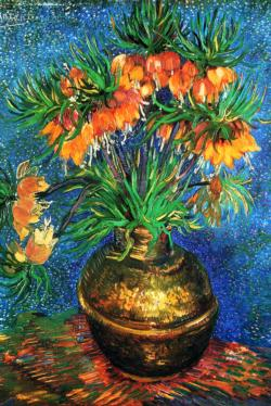 Fritillaries by Van Gogh People