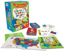 Scrambled States of America - Deluxe Trivia Games