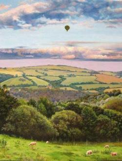 Hot Air Balloon - Scratch and Dent Landscape Jigsaw Puzzle