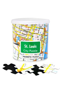 City Magnetic Puzzle St. Louis Cities Magnetic