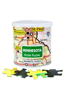 City Magnetic Puzzle Minnesota Cities Magnetic