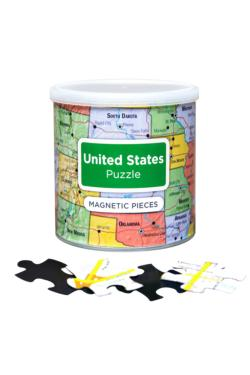 United States Puzzle Maps Magnetic